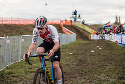 KUHN Kevin (SUI) during Men Under 23 race, 2020 UCI Cyclo-cross Worlds Dübendorf, Switzerland, 1 February 2020. Photo by Pim Nijland / Peloton Photos | All photos usage must carry mandatory copyright credit (Peloton Photos | Pim Nijland)