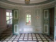Englischer Pavillon im Schlosspark Pillnitz, Dresden, Sachsen, Deutschland.|.Pillnitz Castle Gardens, English Pavillon, Dresden, Germany