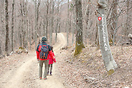 Hiking in Medvednica Nature Park, near Zagreb, Croatia (March 2016) © Rudolf Abraham