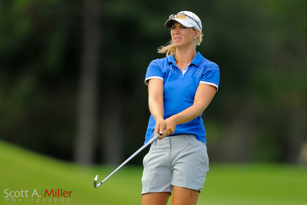 Jessi Gebhardt during the final round of the Symetra Tour Championship at LPGA International on Sept. 29, 2013 in Daytona Beach, Florida. <br /> <br /> <br /> &copy;2013 Scott A. Miller
