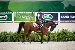 Steve Guerdat, (SUI), Nino Des Buissonnets - Jumping Official Training Session - Alltech FEI World Equestrian Games™ 2014 - Normandy, France.<br /> © Hippo Foto Team - Dirk Caremans<br /> 01/09/14