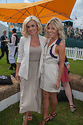 KATHERINE JENKINS; MOLLIE KING, The Veuve Clicquot Gold Cup Final.<br /> Cowdray Park Polo Club, Midhurst, , West Sussex. 15 July 2012.