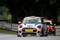#58 Chris Boon Mini F56 JCW during the MINI Challenge - JCW at Oulton Park, Little Budworth, Cheshire, United Kingdom. August 20 2016. World Copyright Peter Taylor/PSP.