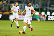 Alessandro Florenzi of AS Roma during the Italian championship Serie A football match between FC Internazionale and AS Roma on January 21, 2018 at Giuseppe Meazza stadium in Milan, Italy - Photo Morgese - Rossini / ProSportsImages / DPPI