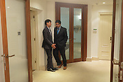 DEBOTTAM BOSE; ; AARON CESAR; , Dinner to celebrate the 10th Anniversary of Contemporary Istanbul Hosted at the Residence of Freda & Izak Uziyel, London. 23 June 2015