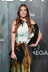 Amber Le Bon attending the Lost in Space event to celebrate the 60th anniversary of the OMEGA Speedmaster held in the Turbine Hall, Tate Modern, 25 Sumner Street, Bankside, London.