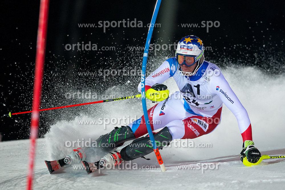 Ramon Zenhaeusern (SUI) during the 7th Mens' Slalom of Audi FIS Ski World Cup 2016/17, on January 24, 2017 at the Planai in Schladming, Austria. Photo by Martin Metelko / Sportida