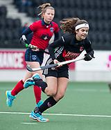 AMSTELVEEN - Hockey - Hoofdklasse competitie dames. AMSTERDAM-LAREN (2-0)  . Noor de Baat (A'dam) .  COPYRIGHT KOEN SUYK