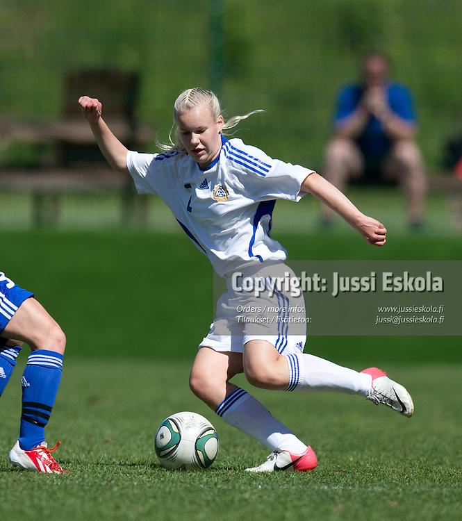 Laura Kölhi. C15. Allstars-ottelu. Piirijoukkue-cup. Tytöt. Eerikkilä. 19.6.2013. Photo: Jussi Eskola