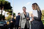 """Laura Boldrini all'università RomaTre per partecipare ad un convegno dal titolo: """"Passato e futuro del garantismo"""". Roma 29 ottobre 2014.  Christian Mantuano / OneShot"""