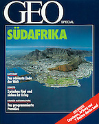 "TEARSHEET: ""Cape Town Aerial"" by Heimo Aga, GEO Special."