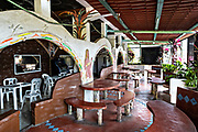 A bar and restaurant along the Papaloapan River in Santiago Tuxtla, Veracruz, Mexico.