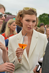 ARIZONA MUSE at the Cartier Queen's Cup Final 2016 held at Guards Polo Club, Smiths Lawn, Windsor Great Park, Egham, Surrey on 11th June 2016.