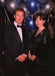 LORD & LADY IVAR MOUNTBATTEN at a ball in London on 12th February 1998.<br /> MFL 46