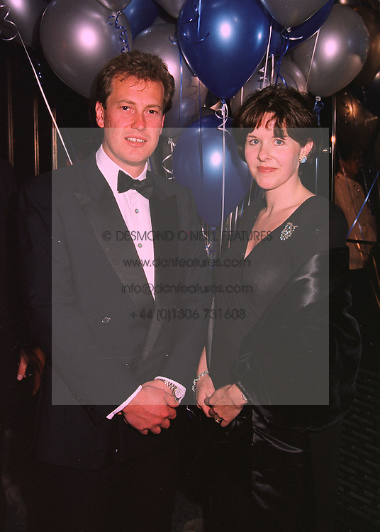 LORD &amp; LADY IVAR MOUNTBATTEN at a ball in London on 12th February 1998.<br /> MFL 46