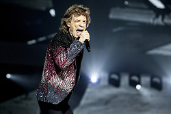 Mick Jagger of The Rolling Stones live on stage at Gelredome in Arnhem, The Netherlands, as part of their No Filter Tour on October 17, 2017. Photo by Robin Utrecht/ABACAPRESS.COM