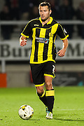 Burton Albion defender Phil Edwards on the ball during the Sky Bet League 1 match between Burton Albion and Crewe Alexandra at the Pirelli Stadium, Burton upon Trent, England on 20 October 2015. Photo by Aaron Lupton.