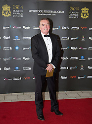 LIVERPOOL, ENGLAND - Tuesday, May 6, 2014: Liverpool's Managing Director Ian Ayre arrives on the red carpet for the Liverpool FC Players' Awards Dinner 2014 at the Liverpool Arena. (Pic by David Rawcliffe/Propaganda)