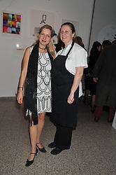 IWONA BLAZWICK and ANGELA HARTNETT at the Whitechapel Gallery Art Plus Opera gala in association with Swarovski held at the Whitechapel Gallery, London on 15th March 2012.