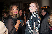 ZAHA HADID; POLLY ROBINSON GAER, Panta Rhei. An exhibition of work by Keith Tyson. The Pace Gallery. Burlington Gdns. 6 February 2013.