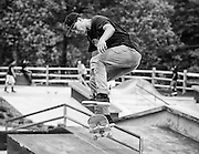 Skateboarding at Reston Skate Park in Reston, .  May 11, 2013  (Photo by Mark W. Sutton)