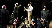 Stephen Sondheim's <br /> Road Show<br /> at the Menier Chocolate Factory, London, Great Britain <br /> press photocall <br /> 5th July 2011 <br /> <br /> European Premier<br /> <br /> <br /> David Bedella (as Wilson Mizner)<br /> <br /> Photograph by Elliott Franks