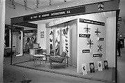 24/04/1964<br /> 04/24/1964<br /> 24 April 1964 <br /> Stands at the Irish Export Fashion Fair at the Intercontinental Hotel, Dublin. Du Pont de Nemours fashions stand at the fair.