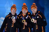 Speed Skating 5000m, Mens - Medal Ceremony