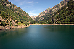 SPAIN BANOS DE BENSASQUE - Fresh water reservoir and Hyrdo-electric dam installation in the central Pyrenees...jre/Photo by Jiri Rezac..© Jiri Rezac 2005..Contact: +44 (0) 7050 110 417.Mobile:  +44 (0) 7801 337 683.Office:  +44 (0) 20 8968 9635..Email:   jiri@jirirezac.com.Web:     www.jirirezac.com..© All images Jiri Rezac 2005 - All rights reserved.