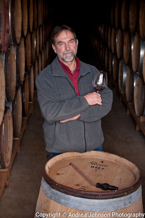 Steve Doerner, winemaker, Cristom Winery, Willamette Valley, Oregon