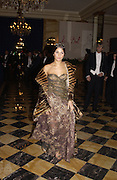 Margherita Missoni and her escort ( behind) , Lupo Lanzara. Crillon Debutantes Ball 2002. Paris. 7 December 2002. © Copyright Photograph by Dafydd Jones 66 Stockwell Park Rd. London SW9 0DA Tel 020 7733 0108 www.dafjones.com