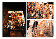 """A selection of three photographs from North Petherton Guy Fawkes Carnival, of """"Gargoyles"""", the entry in the 2010 Somerset Carnival circuit by British Flag Carnival Club. Grouped together for printing. Can be printed with or without a caption on either A4 or A3 heavweight fine art paper. Please indicate on your order whether or not you would like a caption."""