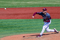 NORMAL, IL - April 08: Hayden Juenger during a college baseball game between the ISU Redbirds  and the Missouri State Bears on April 08 2019 at Duffy Bass Field in Normal, IL. (Photo by Alan Look)