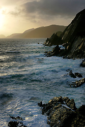 IRELAND KERRY DINGLE 3NOV05 - Coastal landscape at Slea Head with the Blasket Islands in the background off the Dingle Peninsula, Irelands most westerly county...jre/Photo by Jiri Rezac..© Jiri Rezac 2005..Contact: +44 (0) 7050 110 417.Mobile: +44 (0) 7801 337 683.Office: +44 (0) 20 8968 9635..Email: jiri@jirirezac.com.Web: www.jirirezac.com..© All images Jiri Rezac 2005 - All rights reserved.