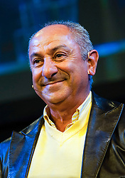 © Licensed to London News Pictures. 28/05/2014. Osvaldo Ardiles -  Footballer Legends Geoff Hurst, Osvaldo Ardiles, Ricardo Villa and Alan Smith appear at The Hay Festival of Literature and Arts which celebrates its 27th year in Wales. Photo credit : Graham M. Lawrence/LNP