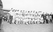 The Kerry Minor team at the All Ireland Minor Gaelic football final Derry v. Kerry in Croke park on the 26th September 1965.
