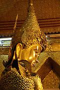 Myanmar, Mandalay, Mahamuni, Golden Buddhist temple