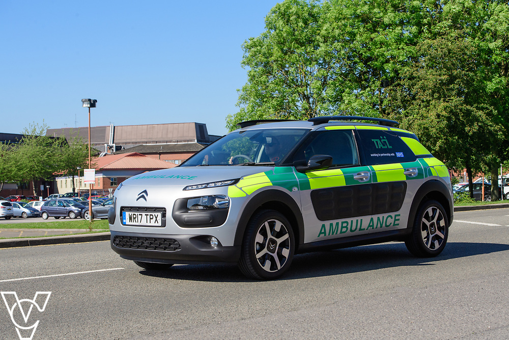 Thames Ambulance Service Ltd - Lincoln County Hospital, Lincoln, Lincolnshire<br /> <br /> Picture: Chris Vaughan Photography<br /> Date: May 26, 2017