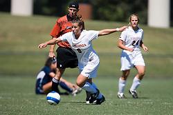 Virginia Cavaliers F/M Kelly Quinn (10)..The Virginia Cavaliers women's soccer team faced the Arizona Wildcats in the 2007 Nike Soccer Classic at Klockner Stadium in Charlottesville, VA on September 16, 2007.