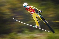 Pozun Katja during national competition in Ski Jumping, 8th of October, 2016, Kranj,  Slovenia. Photo by Grega Valancic / Sportida