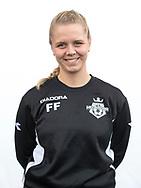 FODBOLD: Fysioterapeut Frida Frimann ved FC Helsingør's officielle fotosession den 3. oktober 2017 på Helsingør Stadion. Foto: Claus Birch