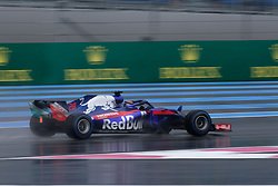 June 23, 2018 - Le Castellet, Var, France - Toro Rosso Driver BRENDON HARTLEY (GBR) in action during the Formula one French Grand Prix at the Paul Ricard circuit at Le Castellet - France (Credit Image: © Pierre Stevenin via ZUMA Wire)