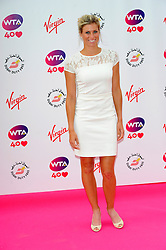 Wimbledon Party<br /> Andrea Hlavackova attends the annual pre-Wimbledon party at Kensington Roof Gardens,<br /> London, United Kingdom<br /> Thursday, 20th June 2013<br /> Picture by Chris  Joseph / i-Images