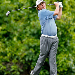 Apr 29, 2012; Avondale, LA, USA; Jason Dufner on the second hole during the final round of the Zurich Classic of New Orleans at TPC Louisiana. Mandatory Credit: Derick E. Hingle-US PRESSWIRE