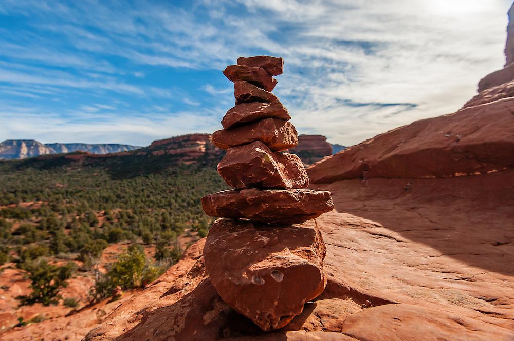 Rock Totem, Boynton Canyon Vortex