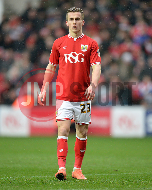 Joe Bryan of Bristol City - Mandatory byline: Alex James/JMP - 13/02/2016 - FOOTBALL - Ashton Gate - Bristol, England - Bristol City v Ipswich Town - Sky Bet Championship