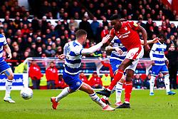 Sammy Ameobi of Nottingham Forest shoots at goal - Mandatory by-line: Ryan Crockett/JMP - 22/02/2020 - FOOTBALL - The City Ground - Nottingham, England - Nottingham Forest v Queens Park Rangers - Sky Bet Championship