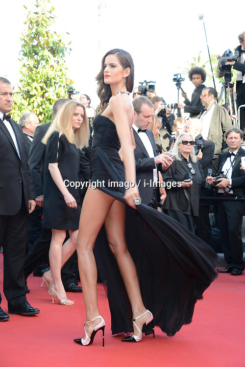 59698370 .Izabel Goulart attends the premiere of 'The Immigrant' at The 66th Annual Cannes Film Festival on May 24, 2013..UK ONLY