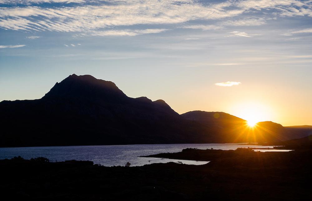 Sunrise over Loch Maree, Torridon, Scotland