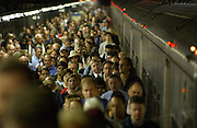 Commuters in Grand Central in Manhattan, NY.